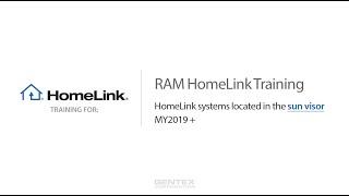 RAM Sun Visor HomeLink Training video poster