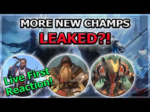 RAID Shadow Legends | More New Champs LEAKED?! | Live First Reaction