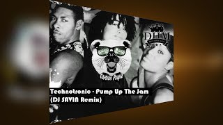 Technotronic - Pump Up The Jam (DJ SAVIN Bootleg)