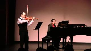 Im A Travelin To The Grave (Negro Spiritual) Leonid Sushansky violin Carlos Rodriguez piano