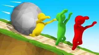 RUN From The GIANT BALL Or DIE! (Human Fall Flat)