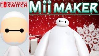 Mii Maker Christmas How To Create Baymax From Big Hero 6
