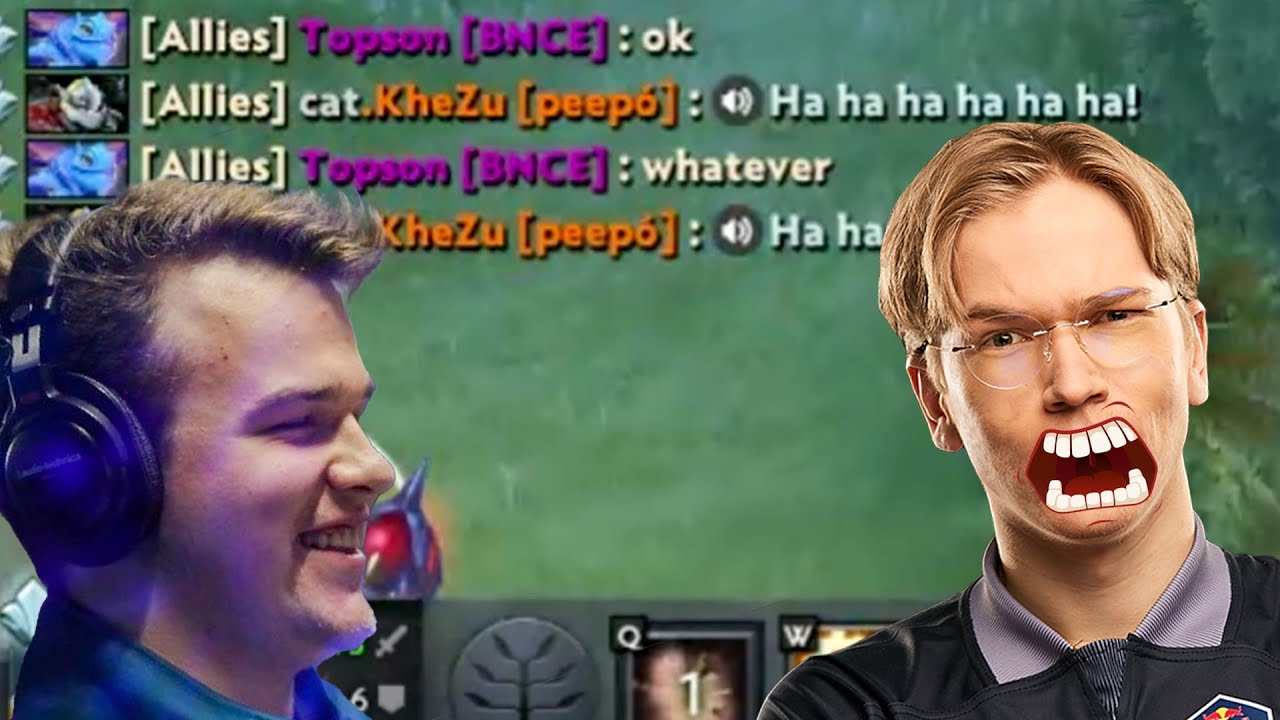 KheZu - Topson Rage Flame in This Game