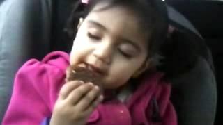Shania sleeping