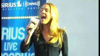 """Kerry Butler singing """"Disneyland"""" at Sirius XM Live on Bway 9/30/09"""