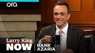Trump, Pacino, Woody Allen: Hank Azaria's many impressions | Larry King Now | Ora.TV