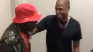 DMX Meets Jay Z Backstage At Beyonce Formation Tour And Finally Ends New York Beef
