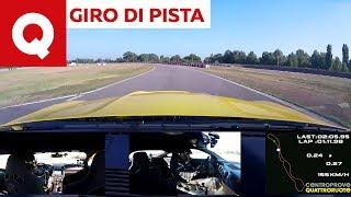 Giro di pista sulla Ford Mustang Shelby GT350R   Quattroruote