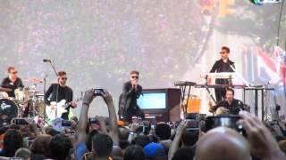 OneRepublic concert NBC Today Show July 25 2014