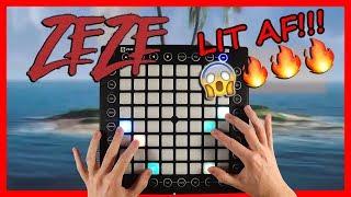 ZEZE by Kodak Black, Travis Scott, & Offset Launchpad Cover (Instrumental) #zezechallenge