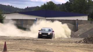 Kjs Ustroński 2013 - Runda II - Andrzej Szewczyk / Gabriela Cienciała - Mazda 323