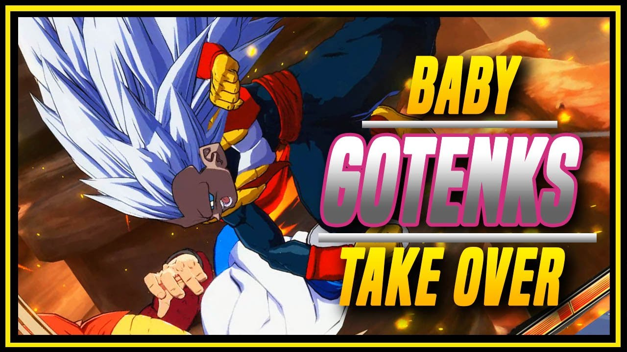 YogaFlame24 - DBFZ ➤ Cool Looking Baby Gotenks Mod  [ Dragon Ball FighterZ ]