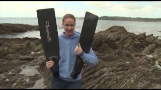 EXCLUSIVE: Emma Farrell reviews the S1 Carborn Freediving Fins from Subgear