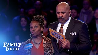 YES! YES! YES! Get 'er done Gwen!   Family Feud