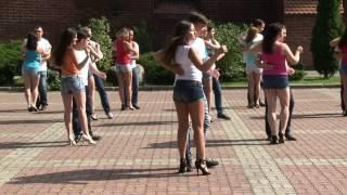 Flash Mob de Kizomba em Kaliningrado - Rússia