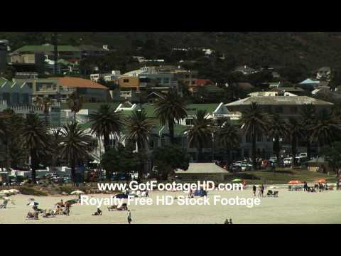 Seaside Resort in Cape Town South Africa – by GotFootageHD.com