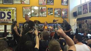 Huey Cam: Metallica - Helpless (Diamond Head Cover) (Live At Rasputin Music) 04-16-16