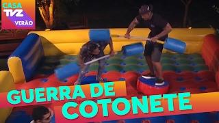 Guerra de Cotonete | Nego do Borel + Mika + Dilsinho + Sorriso Maroto + Léo Santana | Casa TVZ Verão