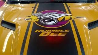 2016 Dodge Truck - Custom RumbleBee Graphics
