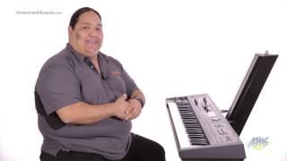 Roland V-Combo VR-09 Live Performance Keyboard - Sounds