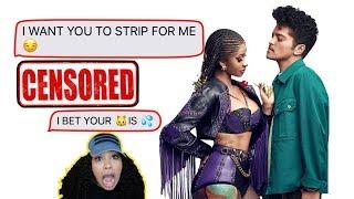 LYRIC PRANK ON A SUBSCRIBERS BOYFRIEND. GONE TERRIBLE!!!😨.. Cardi B & Bruno Mars - Please Me