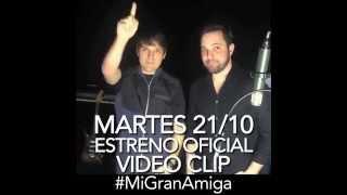 """Anuncio estreno de nuestro nuevo videoclip """"MI GRAN AMIGA"""" / SANLUIS"""