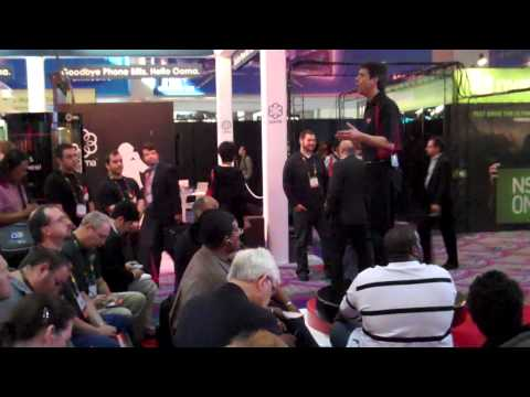 Booth Presenter Clip: Product presentation for AMD at CES trade show