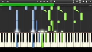 NFL on Fox - Main Theme Song Synthesia Tutorial