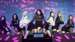 CLC(씨엘씨) 'Meow Meow' Stage Showcase (CRYSTYLE, Hyuna, 현아, Liar, Mistake, Hobgoblin, 도깨비) [통통영상]