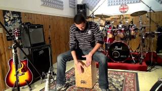 Bruno Mars - locked out of heaven - cajon cover by Andrea Mattia