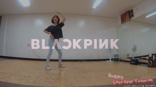 Whistle by Blackpink Mirrored Dance Cover