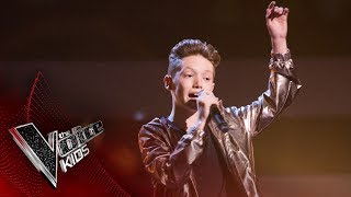 Lewis performs 'Who's Lovin' You': Semi Final | The Voice Kids UK 2017