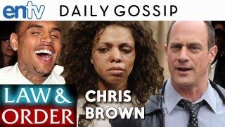 Chris Brown Law and Order SVU Episode : Rihanna Singer Beaten, Karrueche Tran, Jay-Z Cameos - ENTV