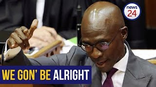 WATCH: Gigaba's quirks during his maiden Budget Speech