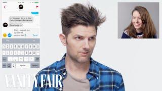 Adam Scott Hijacks a Stranger's Tinder   Vanity Fair