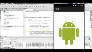 Integrate SVG in Android Studio