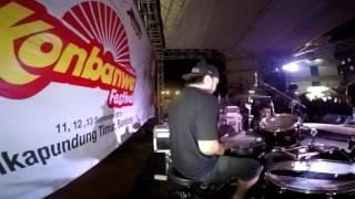 BAROQUE - Gakkidou (Live Cover) Drum cam.