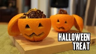 Chocolate Orange - Healthy Halloween Treat