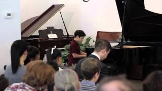 Paul Ziskin plays Debussy (live) : Golliwog's Cakewalk from Children's Corner