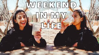Relaxing Weekend in my Life | Finally got to go outside with my leg cast!! | Weekend in my life vlog