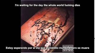 Slayer - Disciple (God Hates Us All Album) (Subtitulos Español)