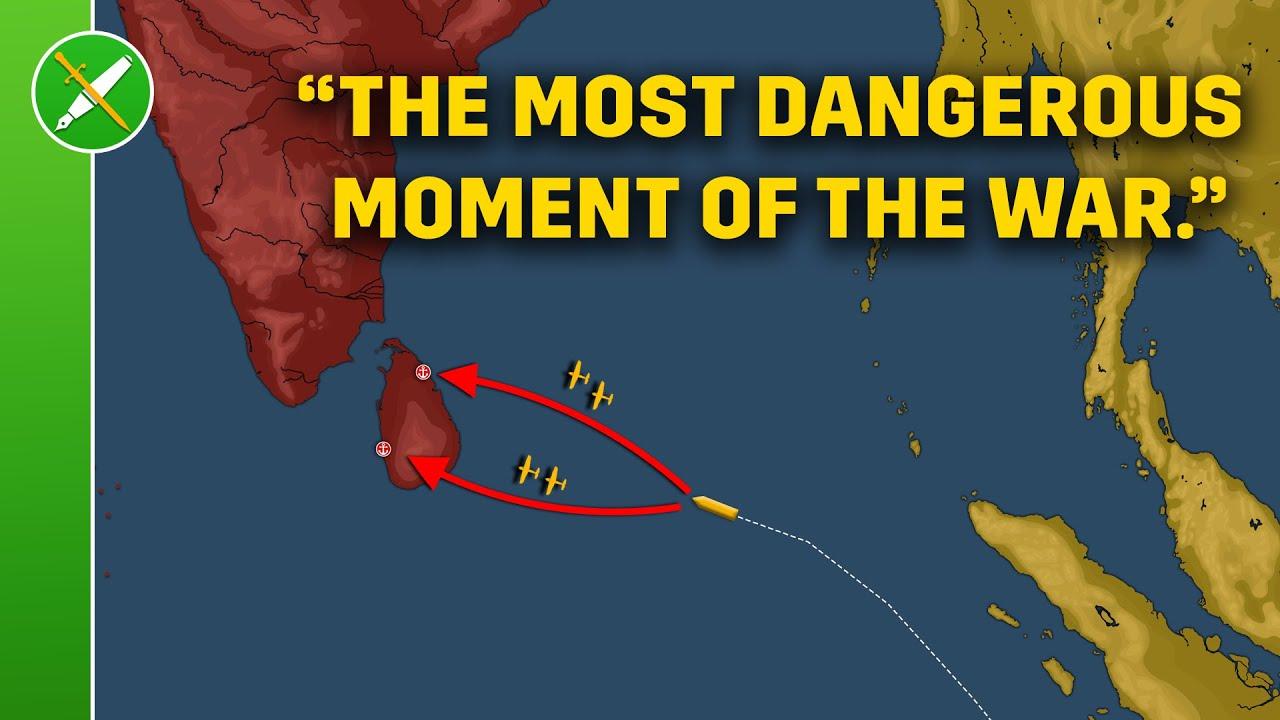 Britain's Pearl Harbor - Indian Ocean Raid 1942 Animated
