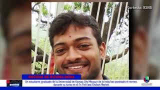 Un estudiante universitario originario de la India fue asesinado en su trabajo de medio tiempo