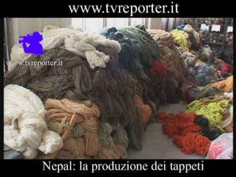 Nepal: la produzione dei tappeti