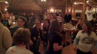 Line Dancing at the Sugar Shack with CBMS students