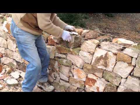 Come fare un muretto a secco | Muro di pietra, …