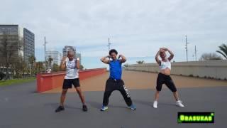 AGACHAITA los 2Notas coreografía zumba 2017 David Brasukas ft André y ana