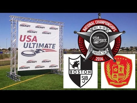Video Thumbnail: 2014 National Championships, Women's Semifinal: Boston Brute Squad vs. Washington D.C. Scandal