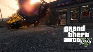 ROBBERY GONE WRONG - GTA V Rockstar Editor Cinematic
