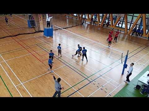 1080317 小運會排球賽~文林A vs 文林B第一局25:10 - YouTube